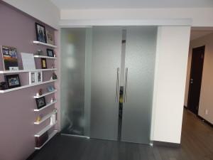 glass door installation nyc brooklyn