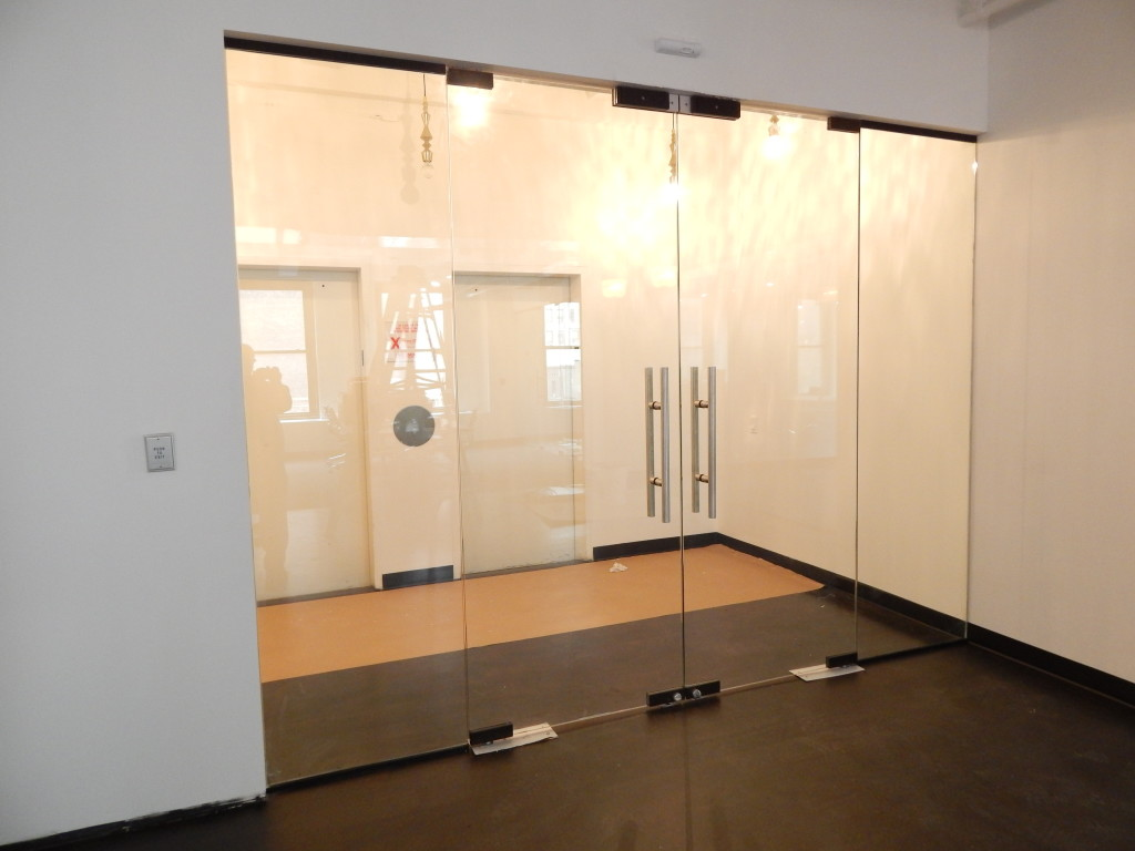 Frameless glass storefront door - Custom Storefront Installation Design Repair Nyc 3